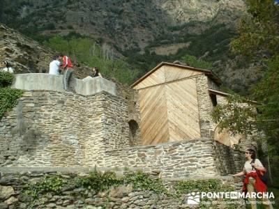 Románico - Parque Nacional de Aigüestortes y Lago San Mauricio; excursiones sierra madrid